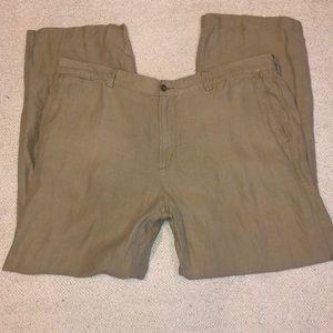 Tommy Bahama linen silk dress pants 40x30
